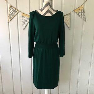 Liz Claiborne Petite Green Sweater Dress